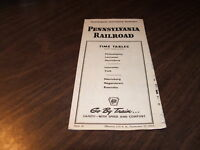 SEPTEMBER 1953 PRR PENNSYLVANIA RAILROAD FORM 41 PUBLIC TIMETABLE