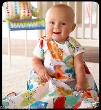 *BNIP* GENUINE GROBAG 0-6 Months 2.5 Tog *DOODLE ZOO* UNISEX BABY SLEEPING BAG