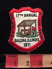 Vtg 1971 Galena Illinois US GRANT PILGRIMAGE Patch 86YD