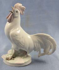 Hahn henne Hahnfigur Porzellanfigur Metzler ortloff porzellan Vogel figur 1926