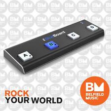 IK Multimedia iRig Blueboard Bluetooth MIDI  Pedal board Controller for iOS Mac