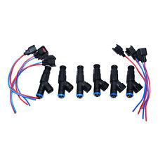 6 SET Fuel Injectors connector for 99-04 4.0L Jeep Cherokee Wrangler 0280155784