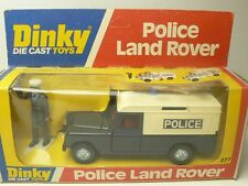 LAND ROVER POLICE DINKY TOYS 277 FROM COLLECTION