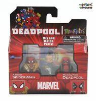 Marvel Minimates TRU Toys R Us Wave 22 Armory Spider-Man & Marvel Now Deadpool