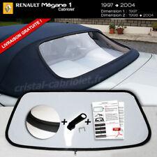 Lunette arrière RENAULT MEGANE Cabriolet teinte CLAIRE envoi gratuit