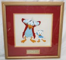 Ludwig Von Drake Original Production Disney Cel Framed~SS