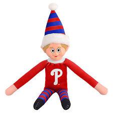Philadelphia Phillies Plush Christmas Elf - MLB Doll On The Shelf Stuffed Toy