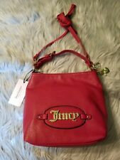 NWT Juicy Couture Bold Move Mini Crossbody Purse Bag Handbag Scarlet Red