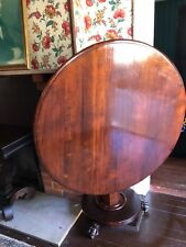 Period Kentucky Tilt Top Claw Footed Table