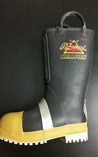 THOROGOOD HELLFIRE BOOTS RUBBER INSULATED FELT WITH LUG SOLE