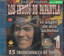 Los Indios de Papantlan Mario y Valente CD New Nuevo Sealed