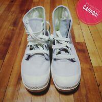 Palladium Canvas & Rubber Boots | Women's Size 6.5