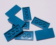 Lego Movie 2 (8) Smooth Tile 2 x 4 Friends Dark Turquoise Teal 87079 NEW 70849