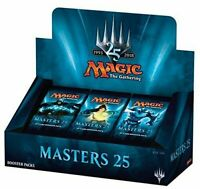 MTG: Masters 25 Sealed English Booster Box FACTORY SEALED Magic the Gathering.