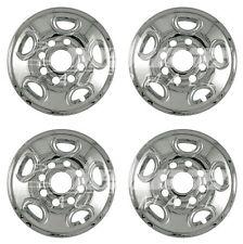 "CHROME Wheel Skins 16"" for GMC Yukon XL / Sierra / Chevy Silverado / Suburban"