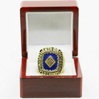 1995 Atlanta Braves World Series Championship Ring (JENKINS) 18k GP Sz 11 *USA*