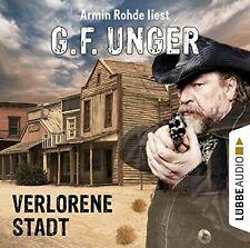 Preisalarm! G.F.UNGER Hörbuch * ARMIN ROHDE liest: Verlorene Stadt * NEU & OVP