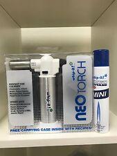 Whip-it Neo Torch White Combo free refill Premium 100 ml Butane Lighter case