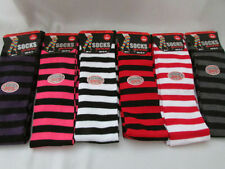 Unbranded Cotton Blend Striped Singlepack Socks for Women