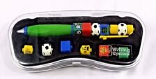 1999 Vintage Lego Writing System Soccer Pen Rare Collectible Lego Item w/Case