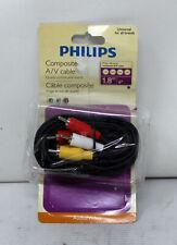 Philips Composite A/V Cable 6 Feet (See Description)