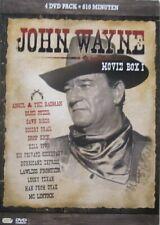 JOHN WAYNE - BOXSET - 4 DVD - BLACK/WHITE