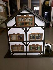 Puppenhaus aus Holz inkl. Möbel