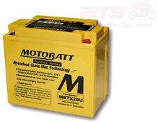 Akku MOTOBATT Batterie MBTX20U 4-polig battery 4-ports Moto Guzzi Harley Davidso