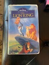 A Walt Disney Masterpiece : The Lion King (VHS, 1995)