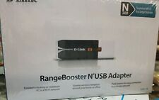 NEW D-Link RangeBooster N USB Adapter N 300 Sealed DWA-140    FREE SHIPPING!