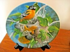 Knowles The Baltimore Oriole Collector Plate - 1985