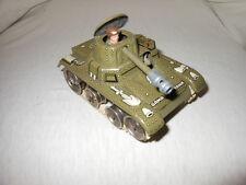 Gama Tank Panzer Blechspielzeug mit Uhrwerk Made in Western Germany D.R.G.M. 120