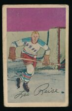 1952-53 Parkhurst Hockey #49 LEO REISE JR. (New York Rangers)
