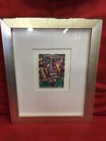 Juan Gomez Graffiti artist Ballpoint Pen Framed & Signed Drawing (2009) artwork