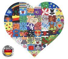 Tolle Geschenkidee zur Hochzeit Holzpuzzle Mosaik Gästebuch Hochzeitsspiel WOW!
