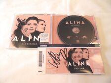 """Alina CD """"Die Einzige"""" und Eintrittskarte - beides signiert !"""