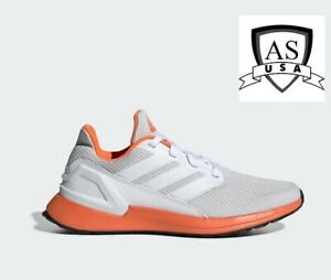 adidas Rapidarun Casual Running Shoes Youth Boys Size 5.5 Off White G27323
