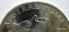 2008 20c cent Error/Variety. Obv. Rim Flaw +.Ch.Unc(Lot813p) Free Postage