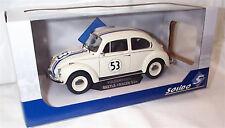 SOLIDO 1/18 Volkswagen Beetle Racer 53 Herbie S1800505 New in Box