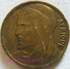 MED12134 - MEDAILLE JETON EXPOSITION INTERNATIONALE COLONIALE 1931 AFRIQUE