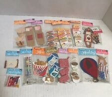 Lot 19 Packs Jolee's By You EK Tools Scrapbooking Stickers Embellishments Crafts