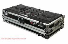 "Odyssey FR10CDJWE DJ Coffin w/ Wheels For  2 Large CD Players  CDJ + 10"" Mixer"