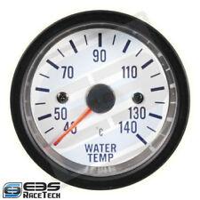 Reloj de Temperatura de Agua AutoGauge Serie 275 White - 52mm de diámetro
