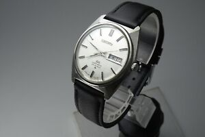 OH,Vintage 1969 JAPAN SEIKO LORD MATIC WEEKDATER 5606-7000 25Jewels Automatic.