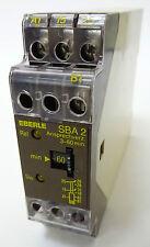 Eberle sba-2 temporisé time relay relais 3-60min 220v 24v ansprechverzögert