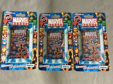 LOT of 3 MARVEL HEROES POG Packs Series #1 SEALED NEW  Priority Shipping