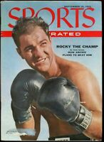 SI: Sports Illustrated September 19, 1955 Rocky the Champ Boxing  G
