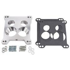 Edelbrock Carburetor Adapter Kit AFB 4 BBL Carb to Quadrajet Base Manifolds