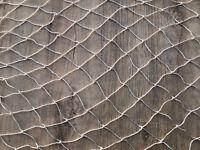 Pulpit/Guard Rail Netting Per Metre Kingfisher White