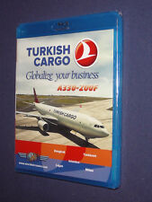 JUST PLANES COCKPIT DVD          TURKISH Cargo A330-200F   blu-ray    new sealed